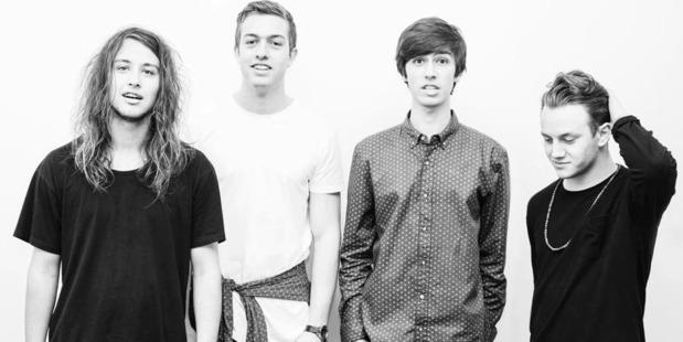 Talented Wellington band Drax Project. Photo / Kapiti News