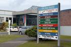Grey Base Hospital and Emergency entrance, Greymouth, West Coast. Photo / Ross Setford