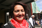 Maori Party co-leader Marama Fox has spoken about discrimination her son suffered at school. Photo / Lynda Feringa