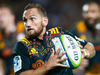 Aaron Cruden of the Chiefs runs in for a try during the round seven Super Rugby match between the Chiefs and the Blues. Photo / Getty Images.
