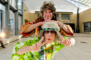 Cranford Hospice CEO Janice Byford-Jones and event campaign manager Nathalie van Dort are already gearing up for a night of dancing, music and fun. Photo / Warren Buckland