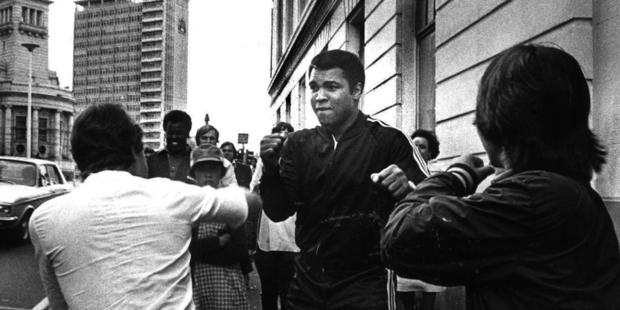 Ali on the streets of Auckland. Photo / Archive
