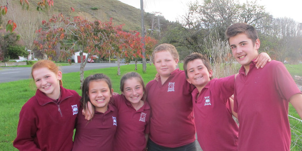 SHOW KIDS: The Hunterville School students who will be starring in an upcoming performance of The Wizard of Oz.