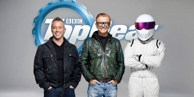 Matt LeBlanc (left) and Chris Evans are the new faces of Top Gear.