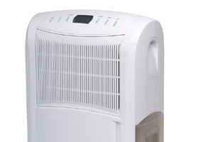 The affected 2013 model -- Nouveau 16L electronic dehumidifier (Model NH-DB16E) -- carries both this model number and the date code 0213. Photo / Supplied