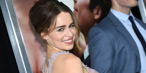 Emilia Clarke is excited of the possibility of being Jane Bond. Photo / AP