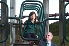 Greenpark School international student Yubin Lee, with principal Graeme Lind. Photo / John Borren