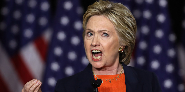 Loading Democratic presidential candidate Hillary Clinton delivers a national security address. Photo / AP