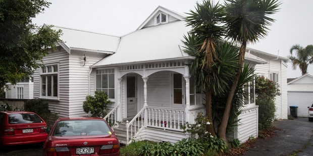 The early 1900s house at 111 Jervois Rd in Herne Bay. Photo / Jason Oxenham