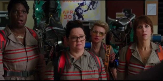 Loading The cast of Ghostbusters will not be discouraged by online trolls.