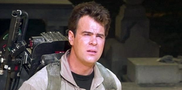 Loading Dan Aykroyd who starred in the original Ghostbusters.