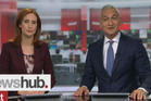 Samantha Hayes makes her debut on Newshub at 6pm next to Mike McRoberts. Photo/TV3