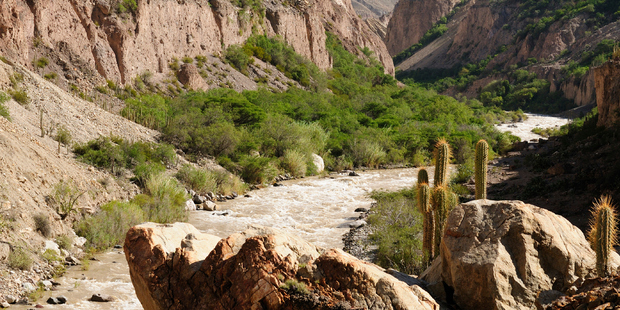 This place is a popular spot for adventure sports - or just sitting and staring. Photo / iStock