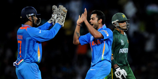 India will face Pakistan yet again at the Champions Trophy tournament next year. Photo / Getty