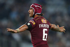 Johnathan Thurston during game 1 of State of Origin. Photo / Getty