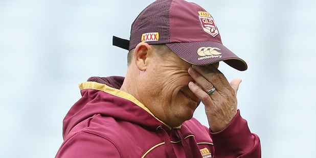 Queensland coach Kevin Walters. Photo / Getty