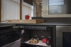 A camera on an appliance optimised with Innit technology detects a vegetable at the new Pirch home design store in New York. Photo / Bloomberg
