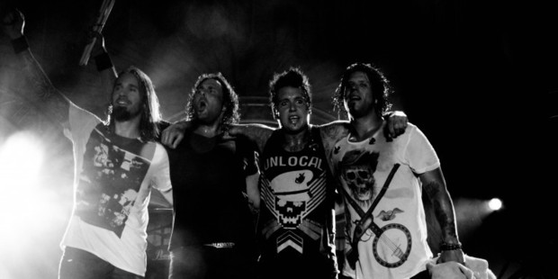 Papa Roach will sell their entire studio to make their next album. Photo / Paparoach.com