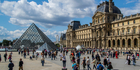 The Louvre Museum in Paris will be closed to remove artworks from rooms threatened by rising waters. Photo / iStock