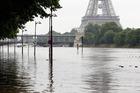 Severe flooding hits Paris. Photo / AP