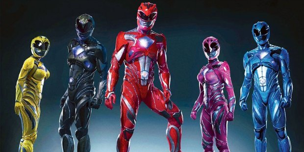 The Mighty morphin' Power Rangers are making a comeback. Photo / Instagram