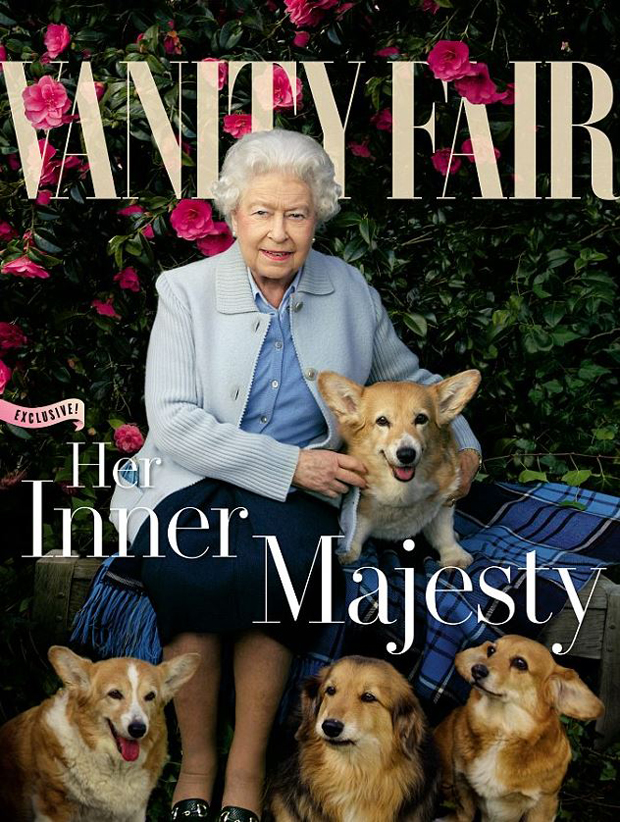 The Queen was photographed as part of her 90th birthday celebrations. Photo / Annie Leibovitz/Vanity Fair