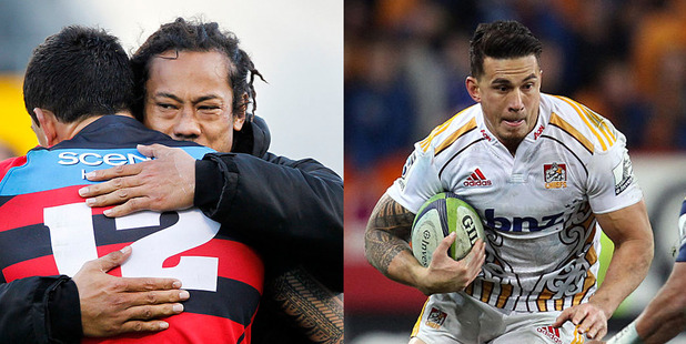 Will be it Tana Umaga and the Blues or a return to the Chiefs for Sonny Bill Williams. Photo /Getty