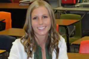 Brittni Darras, a 25-year-old English teacher at a Colorado high school. Photo / Courtesy of Brittni Darras.