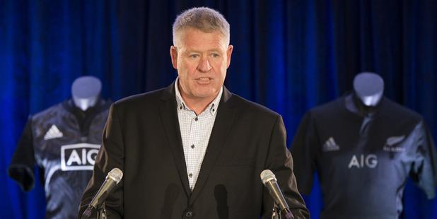 NZR Chief Executive Steve Tew.