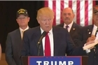 Under pressure to account for charity funds for veterans, an angry and irritated Donald Trump outlined charities Tuesday he says have now received millions of dollars. Trump repeatedly criticized the press for making the money an issue.