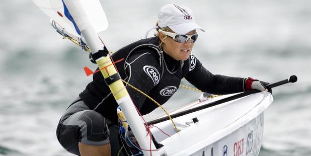New Zealand sailor Sara Winther.