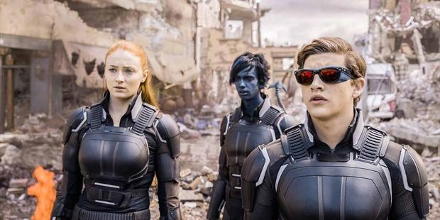 Scene from X-Men Apocalypse.