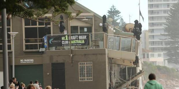 Collaroy Beach Club in Sydney. Photo / John Grainger