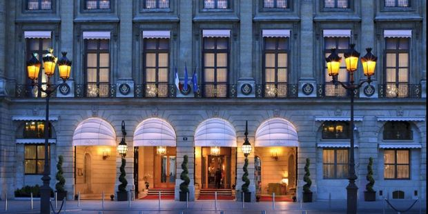 The Paris Ritz has undergone a four-year, US$450 million renovation.