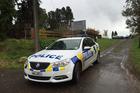 The scene of a fatal police shooting in the small Bay of Plenty village of Karangahake, near Paeroa. Photo / Alan Gibson