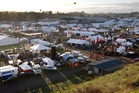 Thousands of people from around the country are scheduled to attend the four-day long Fieldays event at Mystery Creek. Photo / Alan Gibson
