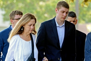 Brock Turner was jailed for six months. Photo / AP