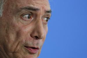 Brazil' acting President Michel Temer. Photo / AP