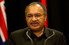 Prime Minister of Papua New Guinea Peter O'Neill. Photo / Herald
