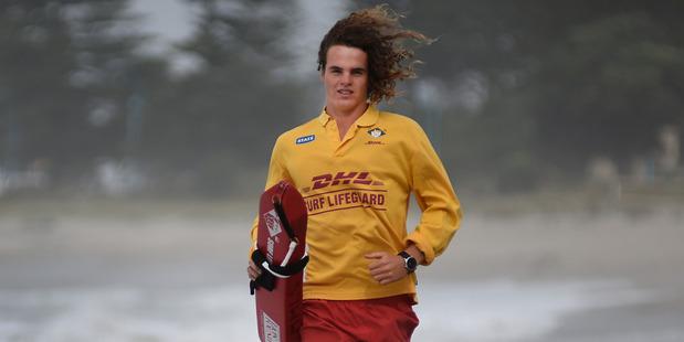 Surf lifesaver Kane Sefton says he has been shamed on social media. Photo / George Novak