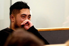 Troy Solomon appears at the Auckland High Court charged with murder. Photo / Michael Craig