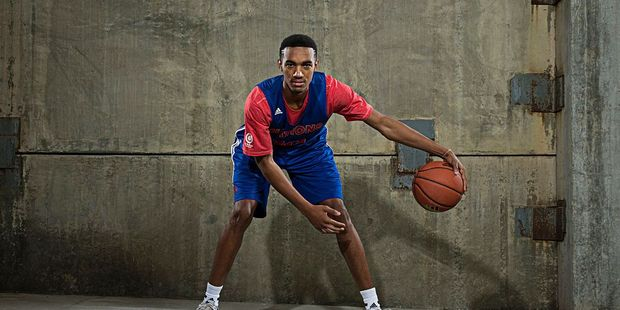 Terrance Ferguson poses for a portrait during Adidas Nations Atlanta on May 1, 2015 at the JW Marriott in Atlanta, Georgia. Photo / Getty