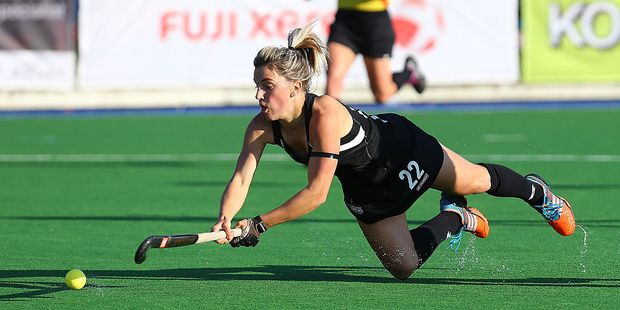 Gemma Flynn is one of four players returning to the Black Sticks after missing the Four Nations tournament. Photo / Getty Images