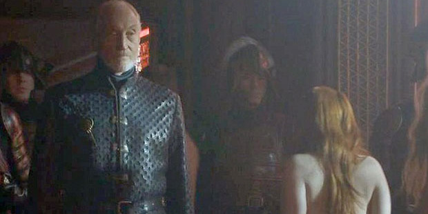 Gillan shares a scene with Charles Dance. She says the actor was flirtatious. Photo / HBO