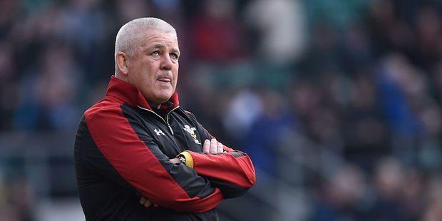 Loading Wales coach Warren Gatland. Photo / Getty