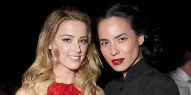 According to law enforcement sources, Amber Heard allegedly grabbed and struck Tasya Van Ree on the arm, which triggered the arrest. Photo / Getty Images