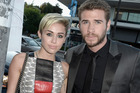 Miley Cyrus and Liam Hemsworth. Photo / Getty Images