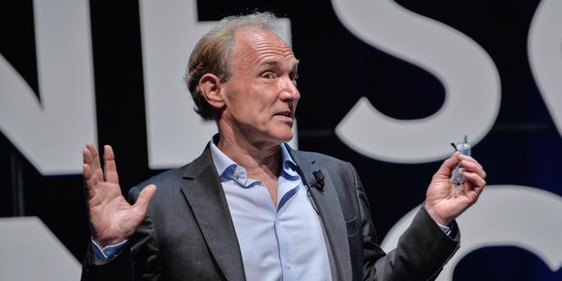 Computer scientist Sir Tim Berners-Lee. Photo / Getty Images