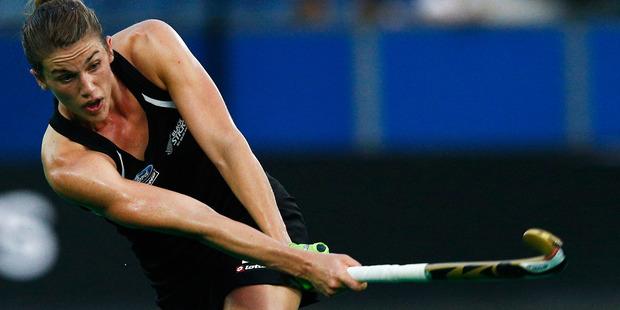 Defender Brooke Neal impressed in the Black Sticks' win over Australia. Photo / Getty