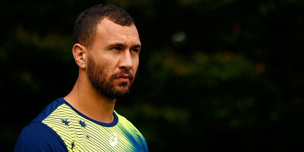 Quade Cooper. Photo / Getty